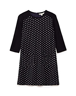 Yumi Girl Little Hearts Knit Dress