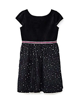 Yumi Girl Embellished Star Dress