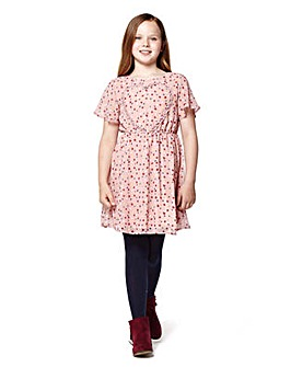 Yumi Girl Frill Heart Dress