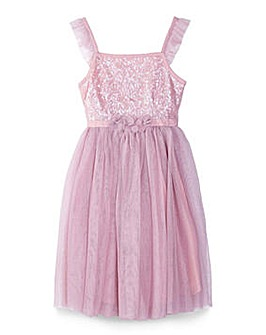 Yumi Girl Sequin Party Dress