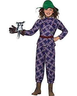 David Walliams Awful Aunty Costume
