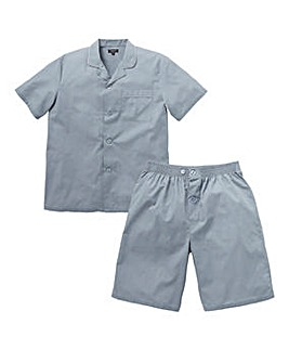 Capsule Grey Short Sleeve PJ Set