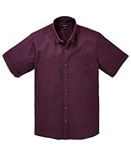 Capsule S/S Plum Oxford Shirt Regular