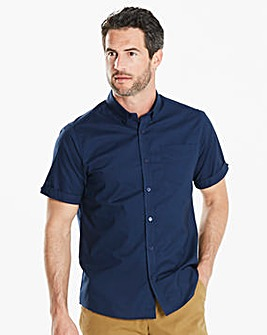 Capsule S/S Navy Oxford Shirt Regular