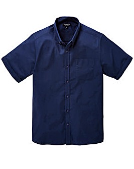 Capsule S/S Navy Oxford Shirt Long