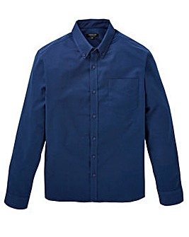Capsule L/S Navy Oxford Shirt Regular