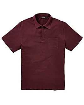 Capsule Plum Stretch Jersey Polo Long