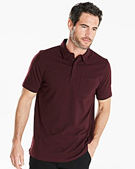 Capsule Plum Stretch Jersey Polo Regular