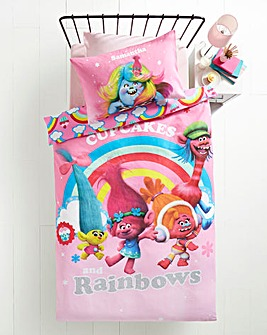 Trolls Dreams Personalised Panel Duvet