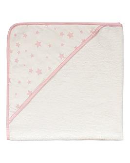 Silentnight Stars Hooded Towel
