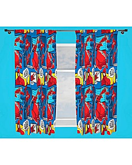 Ultimate Spiderman Webhead Curtains