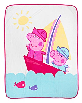 Peppa Nautical Panel Fleece