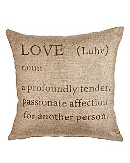 Love Filled Cushion