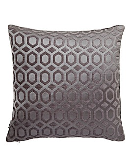Moroccan Silver Tiles Cushion