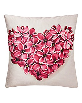 Pink Botanical Cushion