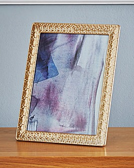 Mosaic Gold Effect Frame 6x8in