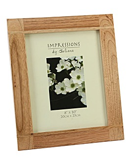 Impressions Oak Coloured Frame 5 x 7in