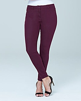 Sophia Supersoft Fly Front Jeggings Long