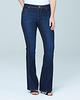 New Eve Bootcut Jeans Short