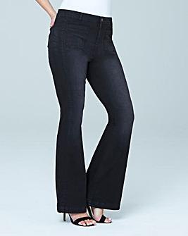 Lola Kick Flare Jeans Reg