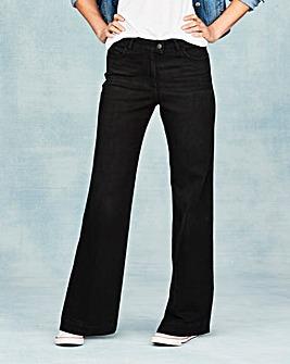 Pixie Wide Leg Jeans Reg