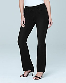 Erin Pull-On Bootcut Jeggings Short