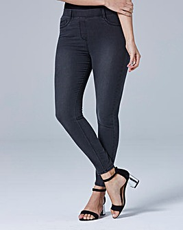 Amber Pull-On Skinny Jeggings Long