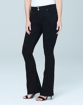 Shape & Sculpt Bootcut Jeans Short