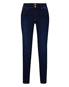 Petite Shape & Sculpt Straight Leg Jeans