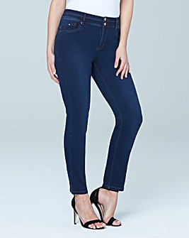 Shape & Sculpt Straight Leg Jeans Short