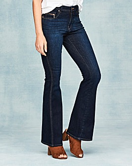 Eve Bootcut Jeans Short