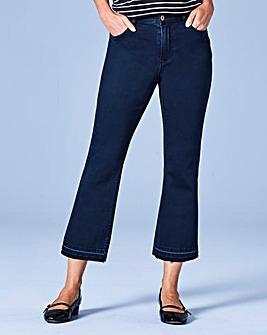 Josie Cropped Flare Jeans Reg