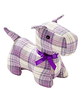 Lorraine Kelly Scottie Dog Doorstop