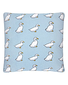 Lorraine Kelly Printed Duck Cushion