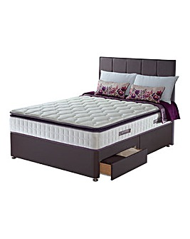 Sealy Nostromo Latex Pillowtop 2 Drawer