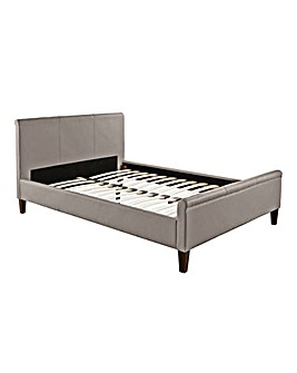 Amalfi Double Faux Leather Bedstead
