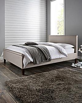 Amalfi Dbl Faux Leather Bed Quilt Matt