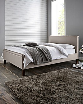 Amalfi King Faux Leather Bed Quilt Matt