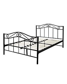 Thea Double Metal Bedstead