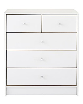 Oslo 3 Plus 2 Drawer Chest