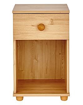 Aspen 1 Drawer Bedside Table