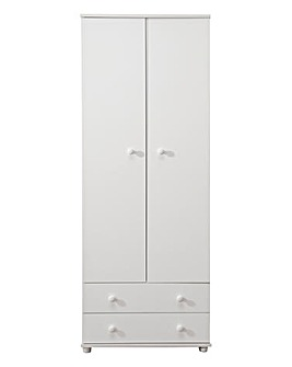 Aspen 2 Door 2 Drawer Wardrobe