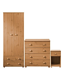 Aspen 3 Piece Bedroom Package Deal