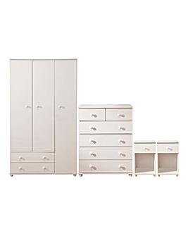 Aspen 4 Piece Bedroom Package Deal