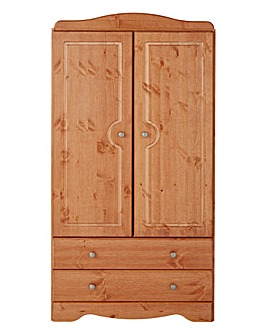 Otley 2 Door 2 Drawer Wardrobe