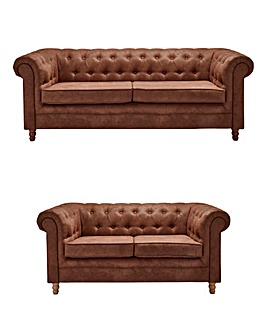 Chesterfield 3 plus 2 Seater Sofa