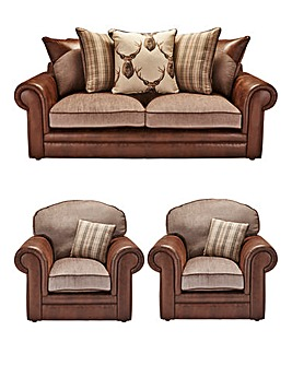 Kintyre 3 Seater Sofa Plus 2 Chairs
