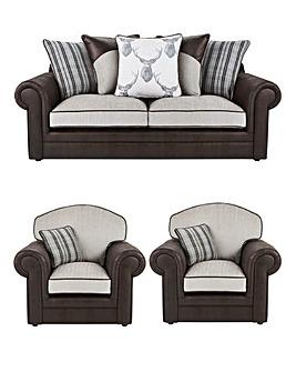 Kintyre 3 Seater Sofa Plus 2 Chairs