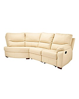 Napoli Leather Left Hand Recliner Corner