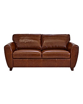 Rimini Leather 3 Seater Sofa